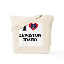 I love Lewiston Idaho Tote Bag