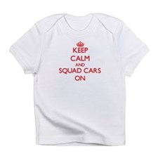 Keep Calm and Squad Cars ON Infant T-Shirt