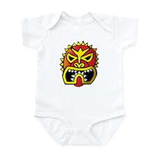 Red Tiki Head Infant Bodysuit