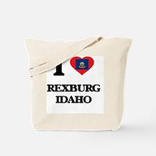I love Rexburg Idaho Tote Bag