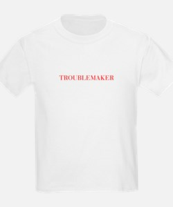 Troublemaker-Bau red 500 T-Shirt