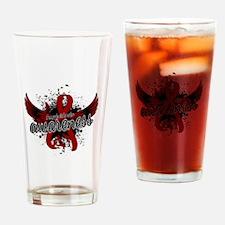 Amyloidosis Awareness 16 Drinking Glass