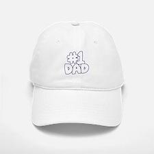 Number 1 Dad Baseball Baseball Baseball Cap