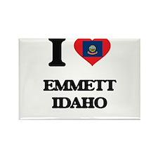 I love Emmett Idaho Magnets