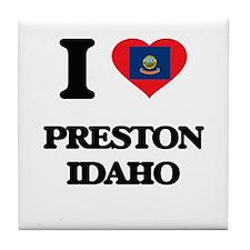 I love Preston Idaho Tile Coaster