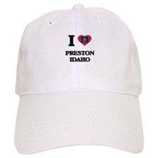 I love Preston Idaho Baseball Cap
