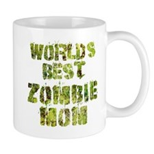 Worlds Best Zombie Mom Mugs