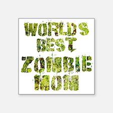 Worlds Best Zombie Mom Sticker