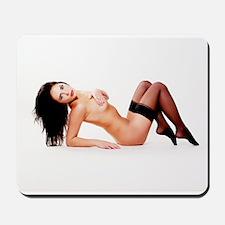 Nude Pinup Girl Mousepad
