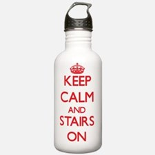 Keep Calm and Stairs O Water Bottle