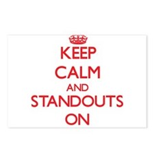 Keep Calm and Standouts O Postcards (Package of 8)