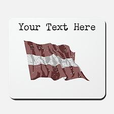 Latvia Flag Mousepad