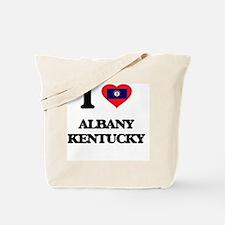 I love Albany Kentucky Tote Bag