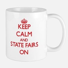 Keep Calm and State Fairs ON Mugs