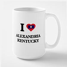 I love Alexandria Kentucky Mugs