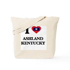 I love Ashland Kentucky Tote Bag