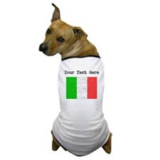 Italy Flag Dog T-Shirt