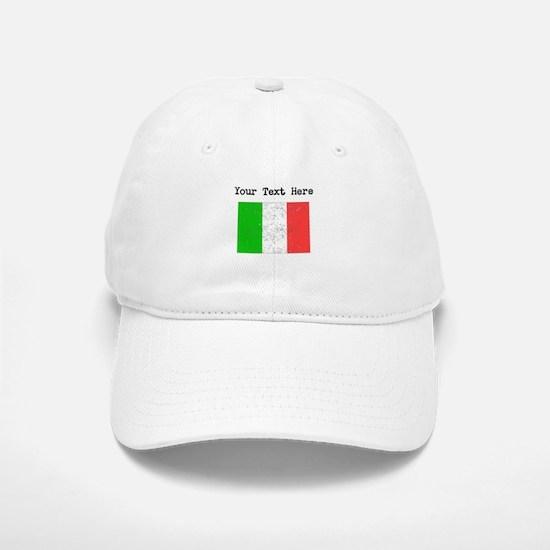 Italy Flag Baseball Baseball Baseball Cap