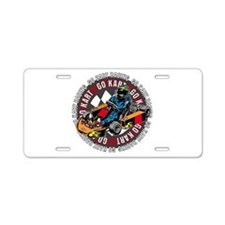 Go Kart Racing Aluminum License Plate