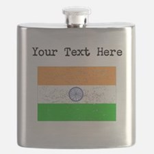 India Flag Flask