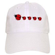 Lady Bug Baseball Cap