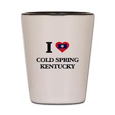 I love Cold Spring Kentucky Shot Glass