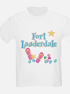 Ft Lauderdale Flip Flops - T-Shirt