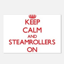 Keep Calm and Steamroller Postcards (Package of 8)