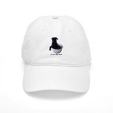 I'll Take Mine Black Baseball Cap