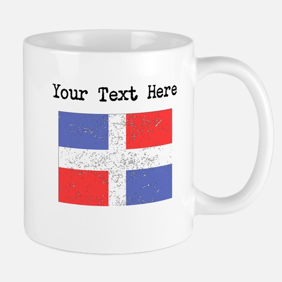 Dominican Republic Flag Mugs