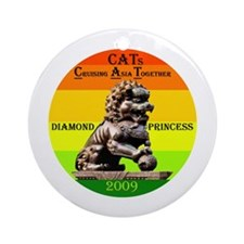 Diamond CATs Logo - Ornament (Round)