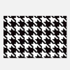 Classic Houndstooth Postcards (Package of 8)