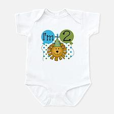 Lion 2nd Birthday Infant Bodysuit