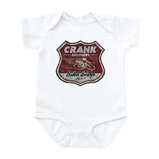 CRANK BROS. BIKE SHOP Infant Bodysuit