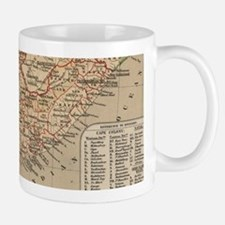 Vintage Map of South Africa (1880) Mugs