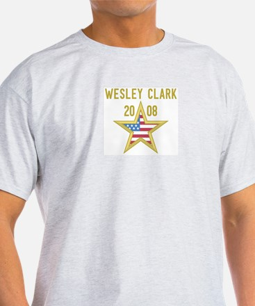 WESLEY CLARK 08 (gold star) T-Shirt