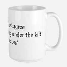 Under the Kilt Sticker Mugs