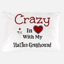 Italian Greyhound Pillow Case