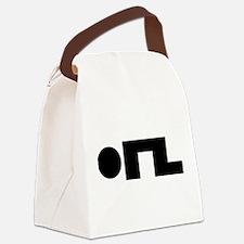 ORZ Emoticon Kaomoji Emoji Canvas Lunch Bag