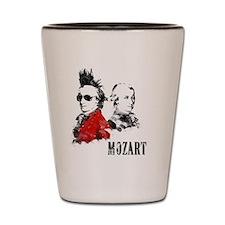 Wolfgang Amadeus Mozart Shot Glass