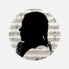 Wolfgang Amadeus Mozart Button
