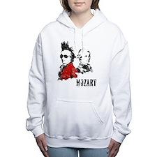 Wolfgang Amadeus Mozart Women's Hooded Sweatshirt