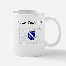 Bosnia Herzegovina Flag Mugs