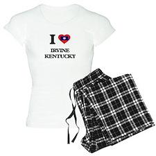 I love Irvine Kentucky Pajamas