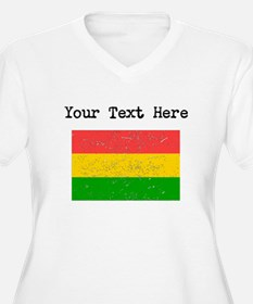 Bolivia Flag Plus Size T-Shirt