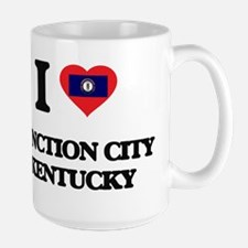 I love Junction City Kentucky Mugs