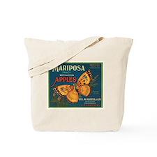 Mariposa Apples Crate Label Tote Bag