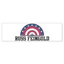 RUSS FEINGOLD - bunting Bumper Car Sticker