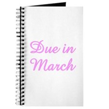 Twisted Imp Maternity Pregnancy Journal March
