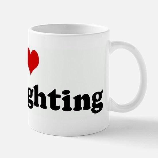 I Love Cockfighting Mug